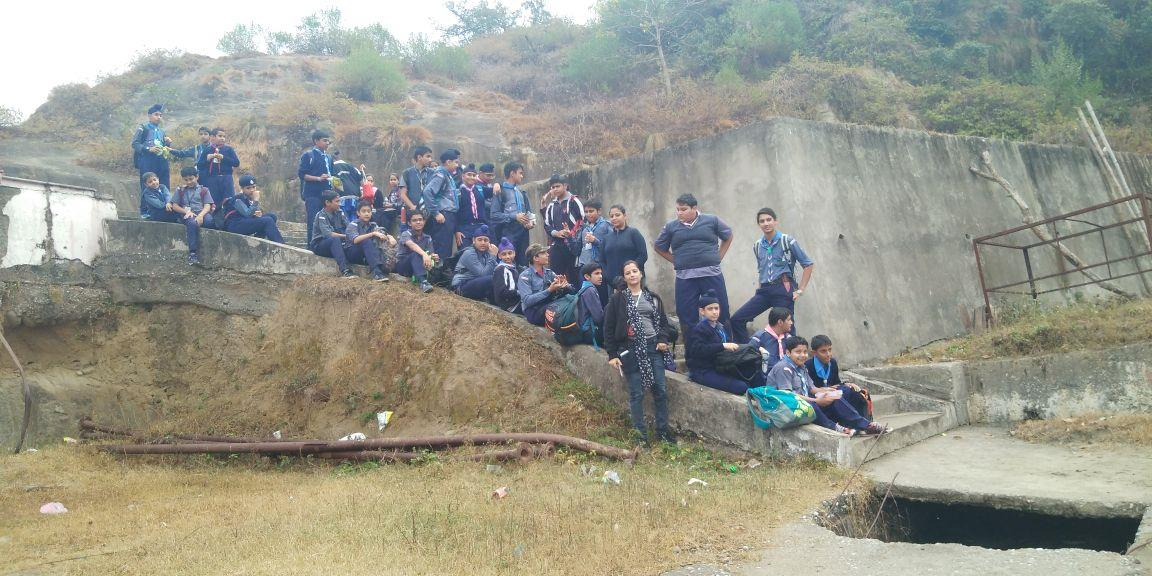 Scouts & Guides of Heritage go Trekking on 17th November