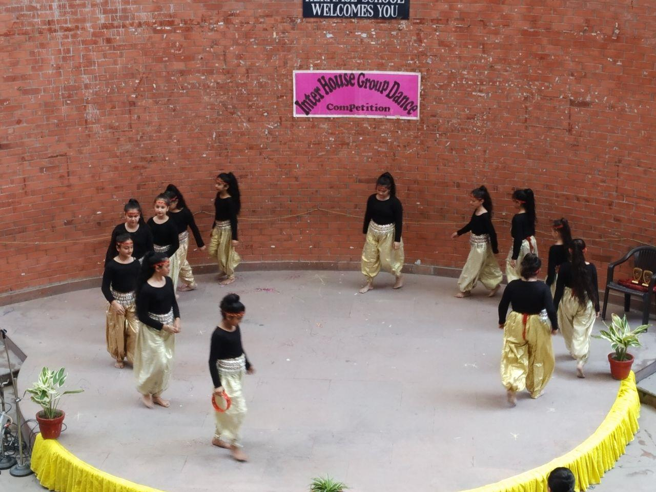Inter House Dance competition Session (2018-19)
